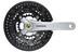 Shimano Acera FC-T3010 Kurbelgarnitur 48x36x26 9-fach silber